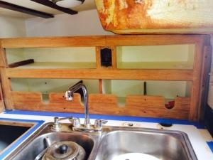 galley new shelf in