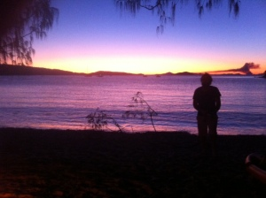 Sunset Great Keppel Island